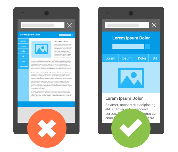 mobile websites vs responsive design