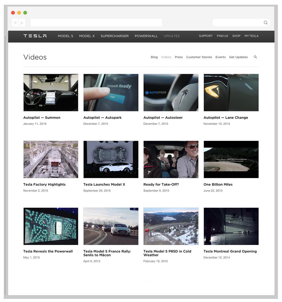 Tesla customer video stories