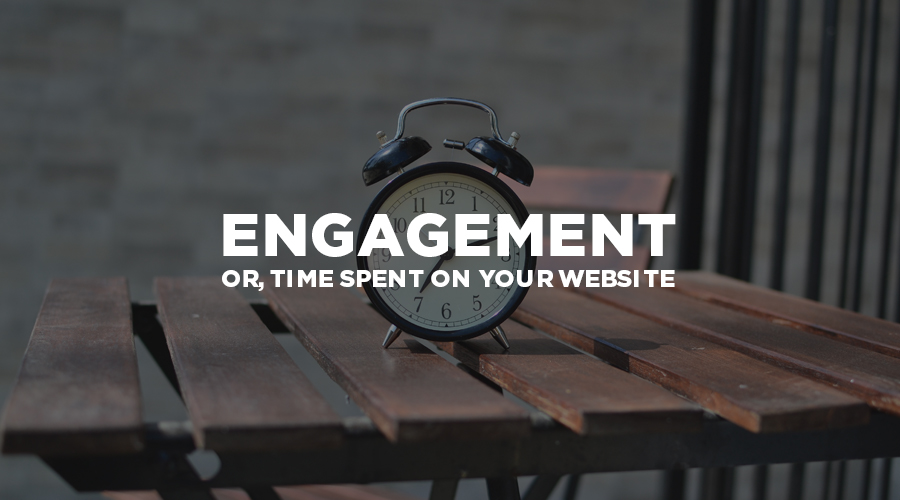 measuring web traffic - engagement
