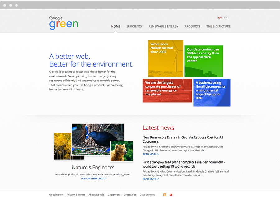 Google Best Practices for CSR