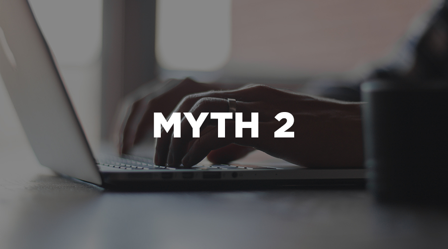 website design myths 2