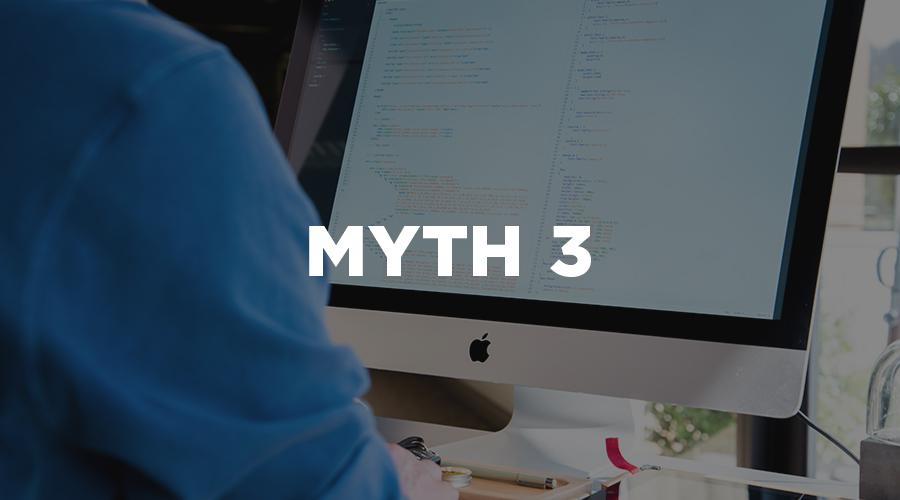 website design myths 3