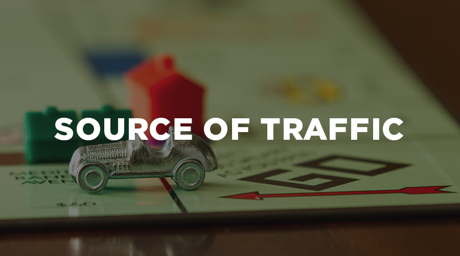 measuring web traffic - sourceoftraffic