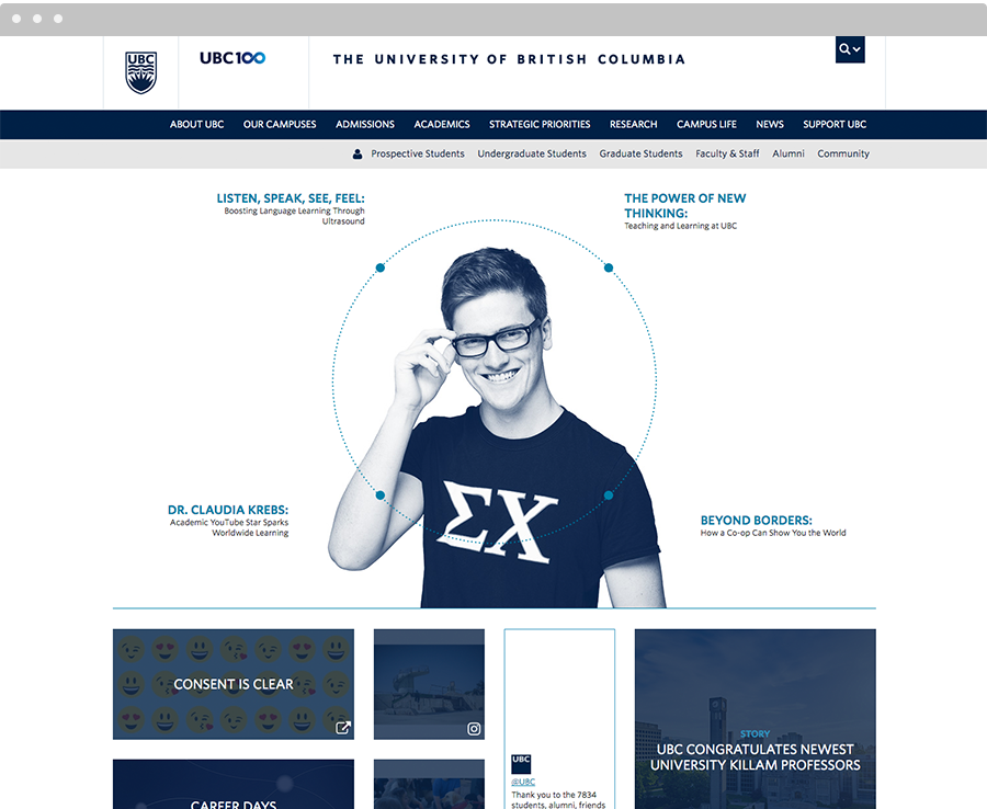 websites we love ubc