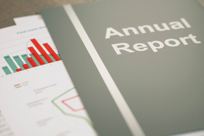 Stunning data visualization for digital annual reports